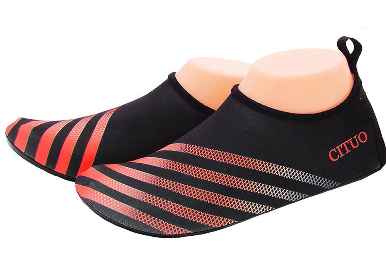 TOOSBUY Barefoot Aqua Skin Fitness Beach Swim Yoga Scuba Running Diving Boarding Skiing Water Shoes