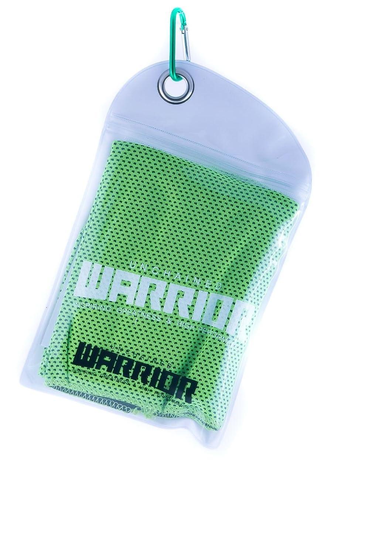 Warrior/® Enfriamiento deportes toalla para viajar, playa, gimnasio, camping, nataci/ón, yoga, Mariscal artes y Pilates//–/secado r/ápido, ligero y /P/óster enmarcado Microfibra toalla de enfriamiento,/