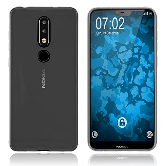 super popular ff518 d0585 Amazon.com: PhoneNatic Silicone Case for Nokia 6.1 Plus (X6 ...