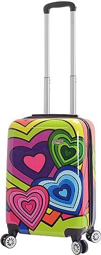 Viaggi Mia Italy Pop Heart Hardside Spinner Carry, One Size