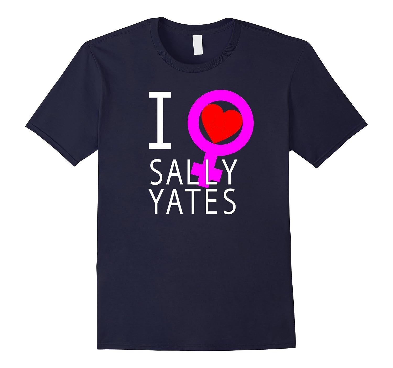I Heart Sally Yates T Shirt Feminist Heart-CD