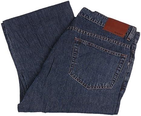 GANT Herren Jeans Hose, Model  TYLER, Farbe  dunkelblau, Größe  W31 L36,,  UPE  149.90 Euro  Amazon.de  Bekleidung 63fe725542