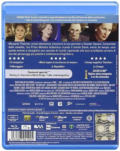 The Iron Lady [Italia] [Blu-ray]: Amazon.es: Streep Meryl, Broadbent Jim, Brown Susan, Colman Olivia, Allam Roger, Lloyd Phyllida: Cine y Series TV