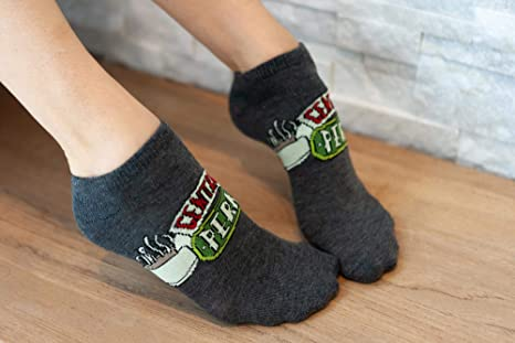 The One Where We ADD YOUR OWN TEXT Friends TV Show Inspired Women/'s Socks