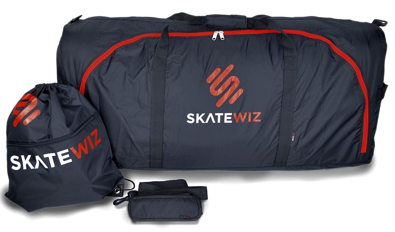 Skatewiz flight bag flugzeug schutztasche für backpacking rucksack