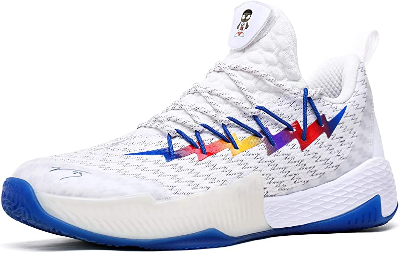PEAK Mens Basketball Shoes Breathable
