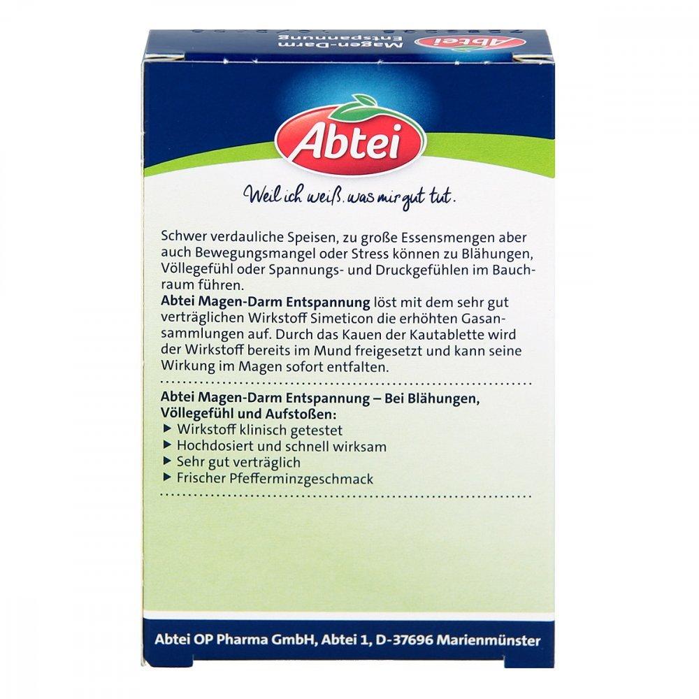 Amazon.com : Abtei Magen-Darm Entspannungstabletten : Grocery ...