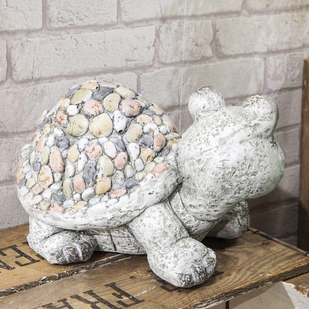 Widdop Country Living Mosaic Polystone Garden Ornament Tortoise
