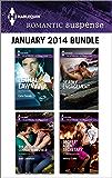 Harlequin Romantic Suspense January 2014 Bundle: Lethal Lawman\The Return of Connor Mansfield\Deadly Engagement\Secret Agent Secretary