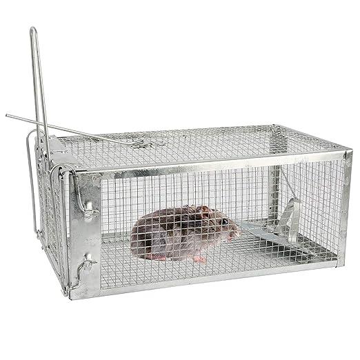 Teqhome - Jaula de Alambre Estable para atrapar a los Animales ...