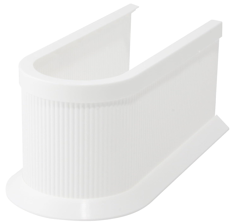 Cubierta para sif/ón Fackelmann 61548 color blanco