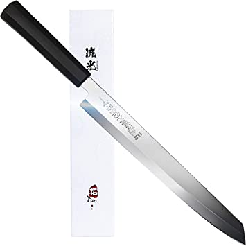 TUO Sashimi Sushi Yanagiba Knife - Japanese Kitchen Knife 10.5