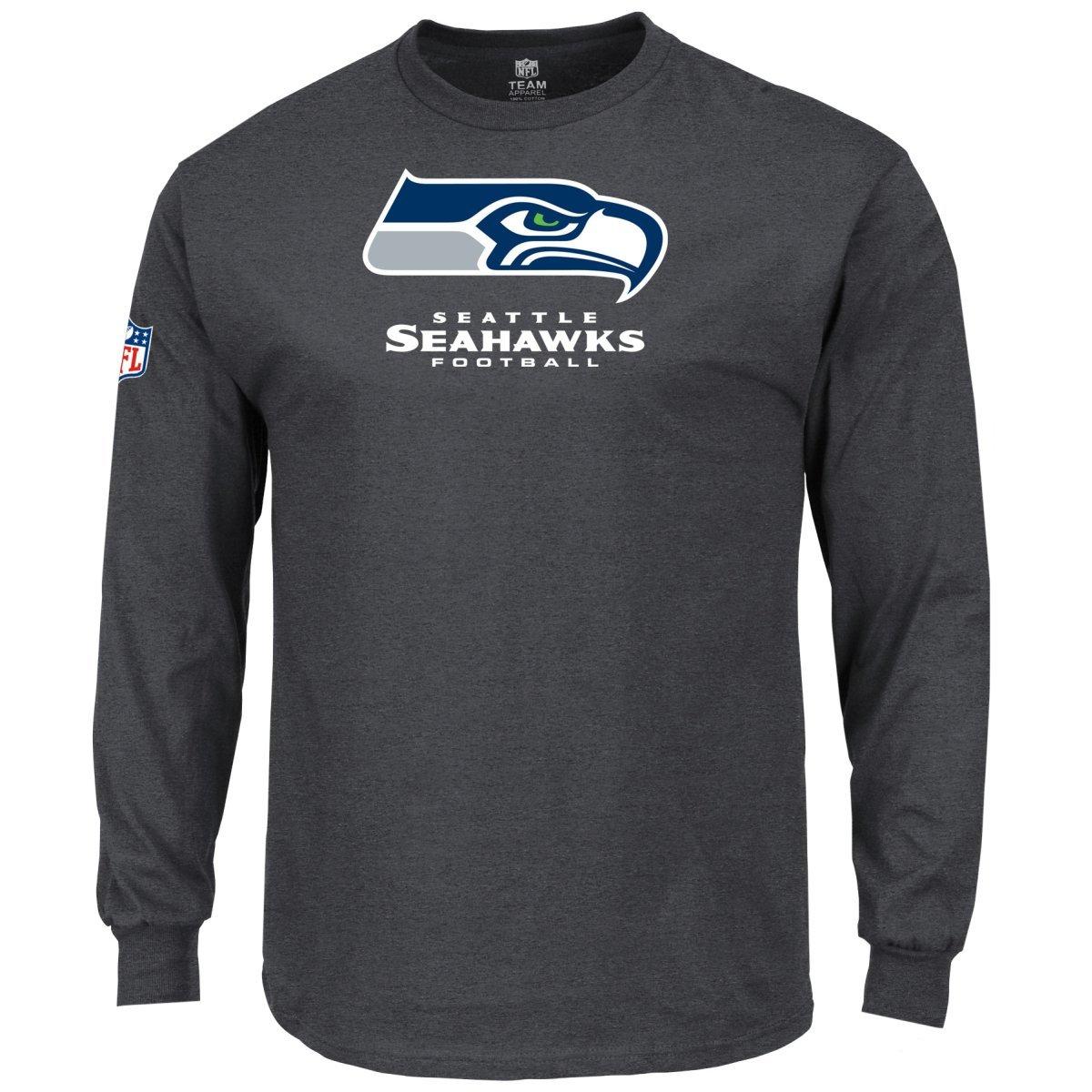 Majestic nostro team manica lunga – Seattle Seahawks antracite, antracite, antracite, Uomo, Charcoal, L | Costi Moderati  | Benvenuto  | Prestazioni Superiori  | Adatto per il colore  | Nuovo Prodotto 2019  fb5cf9