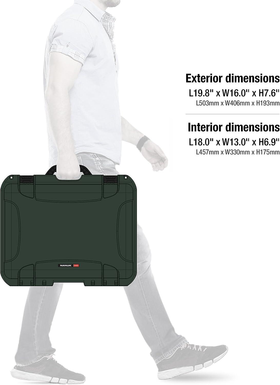 Nanuk 930 Hartschalenkoffer Mit Gepolsterten Kamera