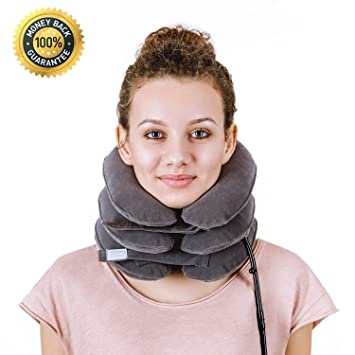 Amazon.com: Warmhoming Tracción cervical del cuello ...