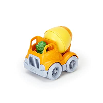 Green Toys Mixer Vehicle: Toys & Games