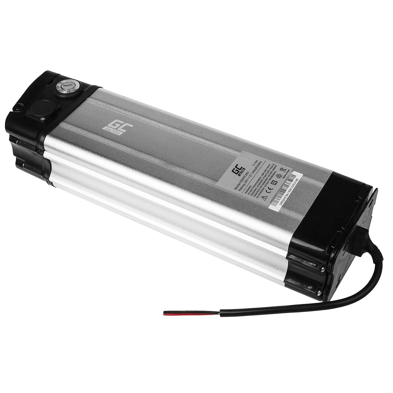 GC/® Bater/ía E-Bike 24V 11.6Ah 278Wh Bottle para Bicicleta El/éctrica con Celdas Panasonic y Cargador