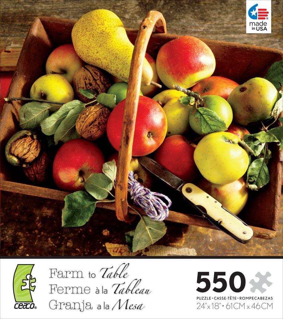 punto de venta en línea Ceaco-550 Piece Farm to Table - - - Fruit Jigsaw Puzzle by Ceaco  de moda