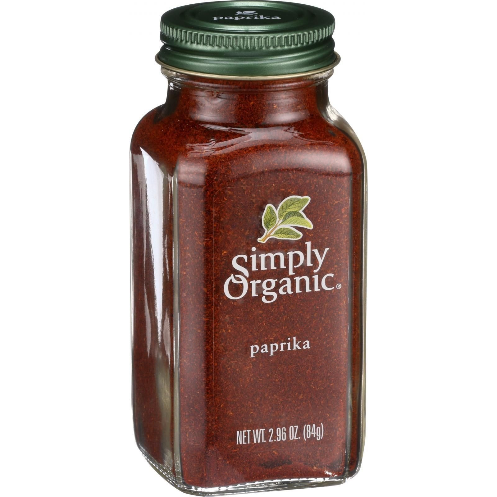 Simply Organic - Organic Ground Paprika - 2.96 oz - Kosher - From Israel