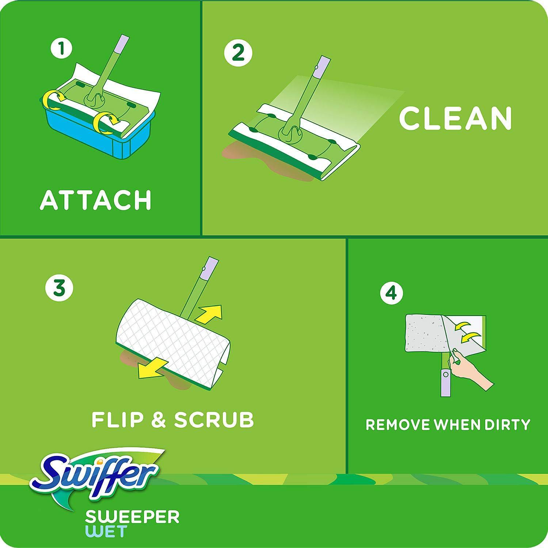 Swiffer Sweeper Wet Refills Choose Your Scent 64