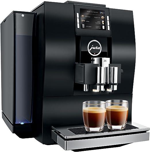 JURA Z6 Independiente Máquina espresso Aluminio, Negro 2,4 L ...