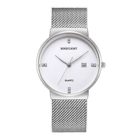 Amazon.com: Reloj analógico de cuarzo para hombre con fecha ...