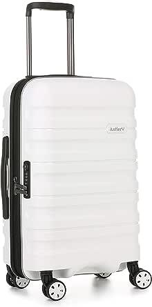 Antler Juno 2 4W Cabin Roller Carry-On Hardside, White, 56cm