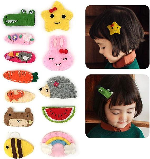 Baby Girls clips cheveux paillettes Petit Mini Snap Pince à Cheveux Petites Filles Bébés C....