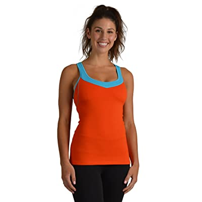 DYLN Inspired Women's Shelf Bra Tank – Y Back Becoming Workout Tank Tops