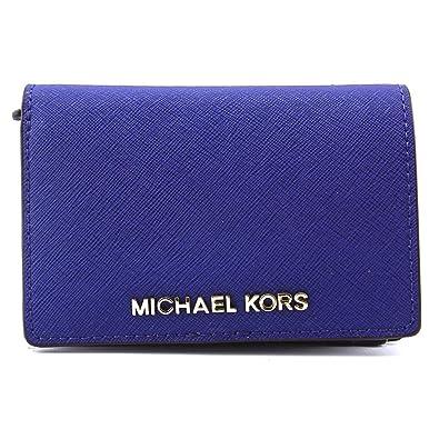b5507f200249 Amazon.com  Michael Kors Jet Set Travel Medium Slim Sapphire Leather ...