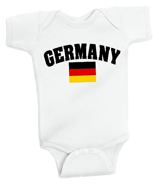 Amazon.com: Alemania Body Soccer Infant Baby Girls Boys ...