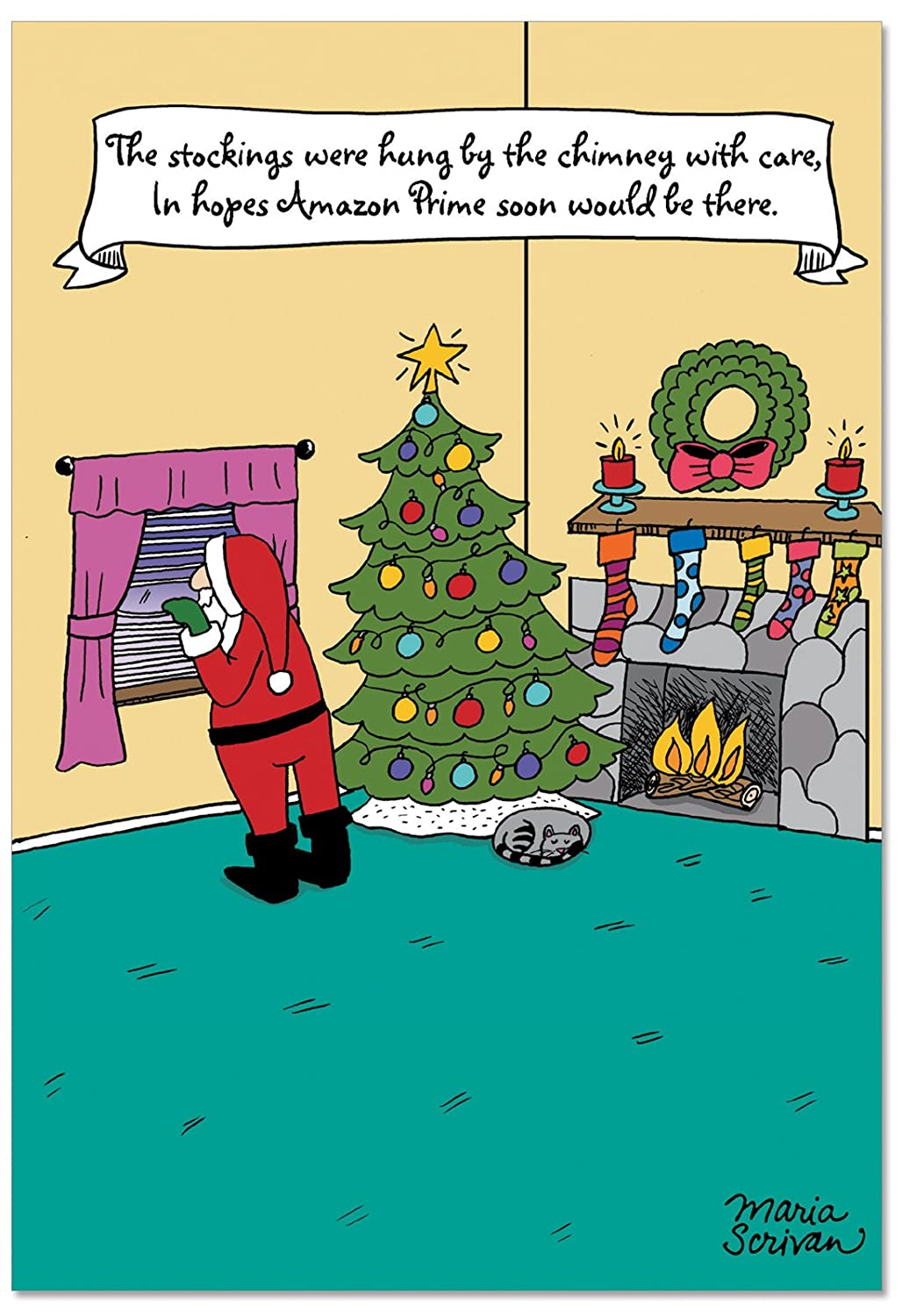 Silly Funny Boxed Christmas Cards | www.topsimages.com