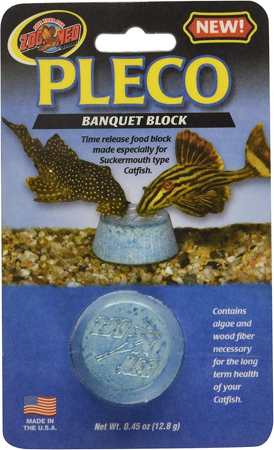 (5 Pack) Zoo Med Laboratories Pleco Banquet Blocks