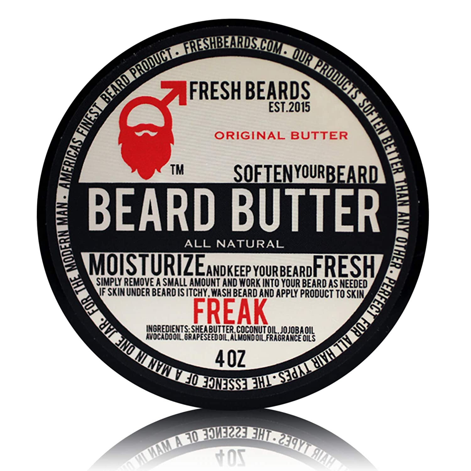 """Freak"" Beard Butter Fresh Beards"