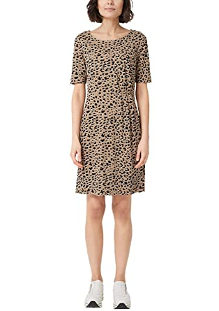 für die ganze Familie Schnäppchen für Mode ungleich in der Leistung s.Oliver RED LABEL Damen Jerseykleid mit Alloverprint: s ...