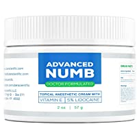 Advanced Numb (2 oz) 5% Lidocaine Pain Relief Cream, Lidocaine Ointment, Numbing...