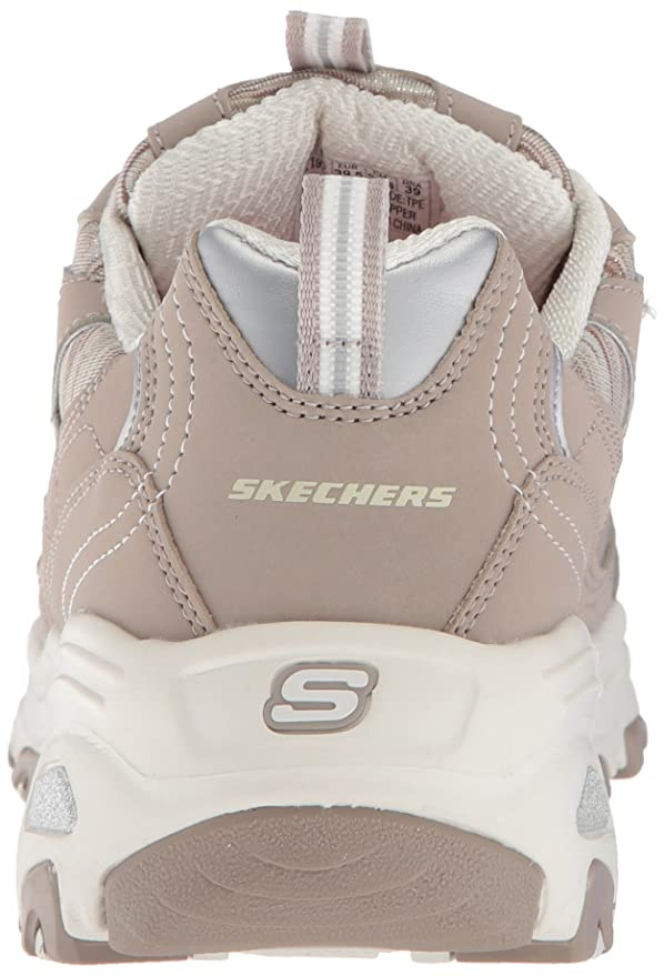 Skechers D'Lites Interlude 11978BKMT, Baskets mode femme
