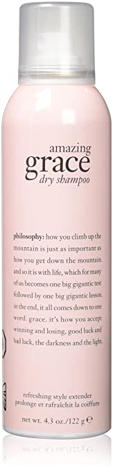 Philosophy Amazing Grace Dry Shampoo, 4.3 Ounce Best Dry Shampoo