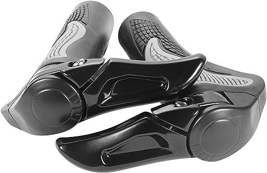 Sixwolves Puños Manillar de Bicicleta diseño ergonómico Caucho ...