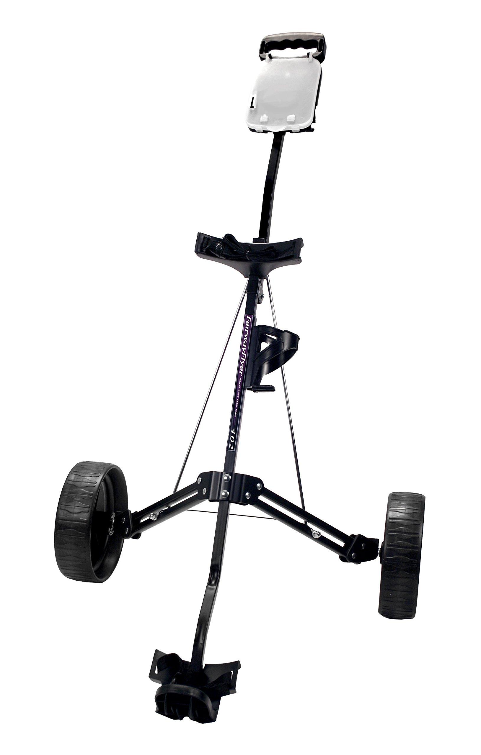 ProActive Sports Fairway Flyer 402 Golf Push Cart (Black)