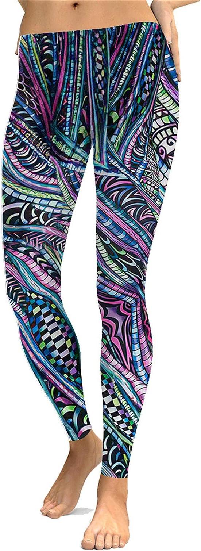 Leggings Damen Yogahose Fitnesshose, Frauen-Mädchen