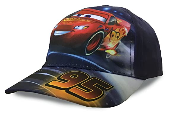 0f227377d67 Boys Disney Pixar Cars Baseball Cap Hat - Kids Childrens  Amazon.co ...