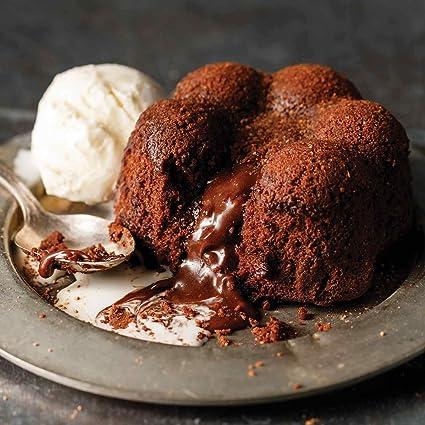 Omaha Chuletas 4 (4.2 oz.) Chocolate Molten Lava pasteles ...