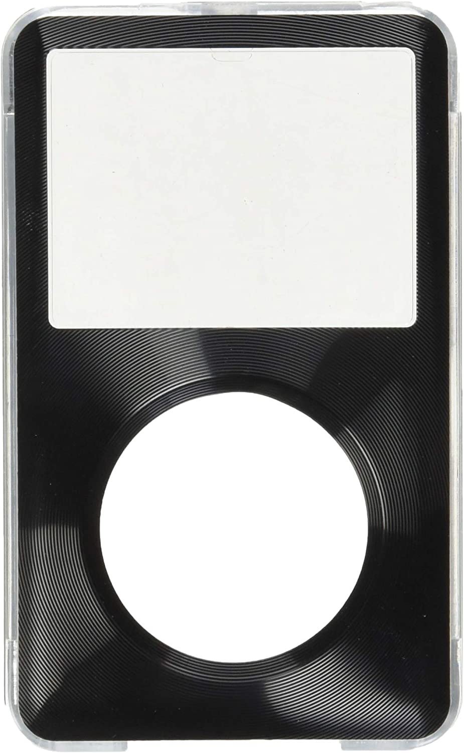 MIP INC Classic Hard Case with Aluminum Plating for Apple iPod 80gb 120gb 160gb (Black)