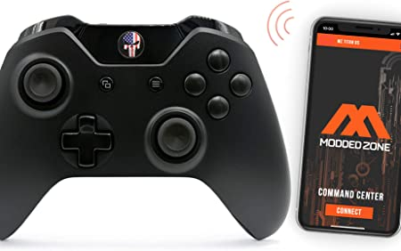 Enigma Rapid Fire Custom Modded Controller Compatible with Xbox One S 40 Mods for All Major Shooter Games with 3.5 Jack Quick Scope Auto Run /& More Auto Aim