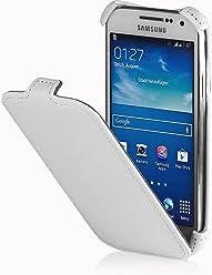 StilGut SlimCase, esclusiva custodia per Samsung Galaxy S4 i9500 & i9505, bianco