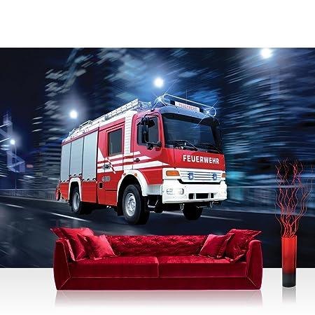 71Db6KmkoJL. SY450  - Tapete Feuerwehr
