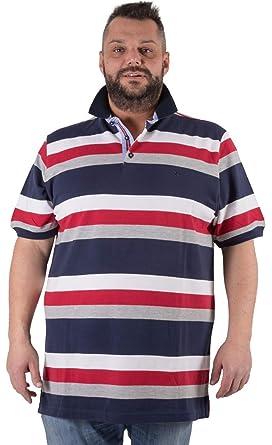 Maxfort Polo Tallas Fuertes Hombre Camiseta algodón: Amazon.es ...