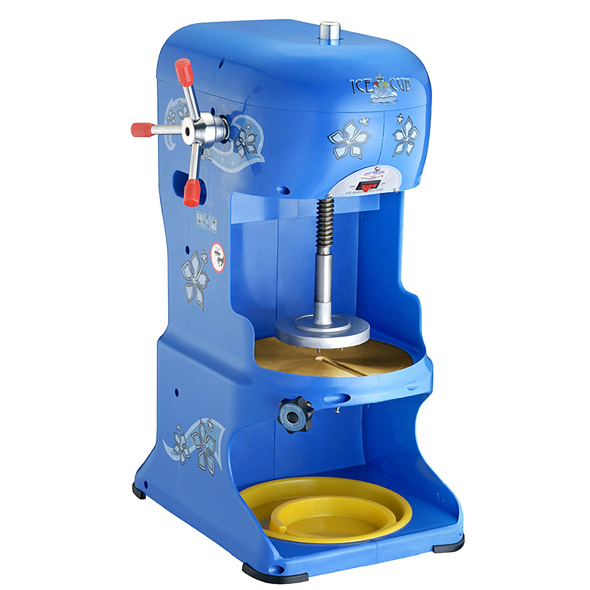 Great Northern Premium Quality Ice Cub Shaved Ice Machine Commercial Ice Shaver by Great Northern Popcorn Company