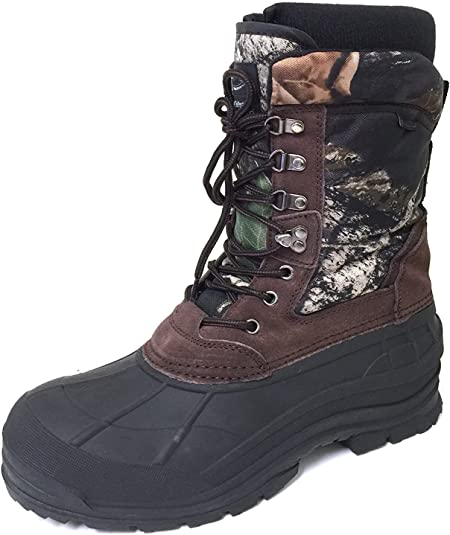 """Men/'s Winter Boots Size 9 Insulated Thinsulate Waterproof Steel Toe 11/"""" High"""